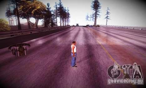 Ebin 7 ENB для GTA San Andreas шестой скриншот