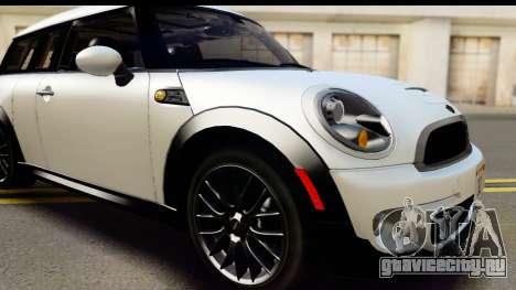 Mini Cooper Clubman 2011 для GTA San Andreas вид сбоку