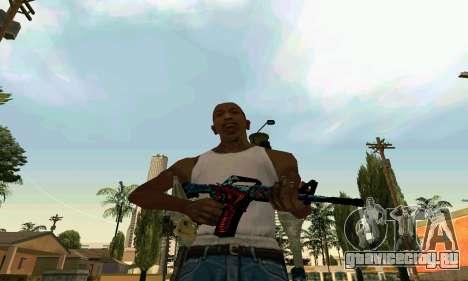 M4A1 Hyper Beast для GTA San Andreas