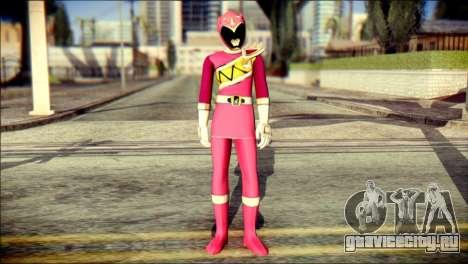 Power Rangers Kyoryu Pink Skin для GTA San Andreas