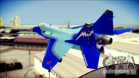 Mikoyan-Gurevich MIG-29K для GTA San Andreas вид слева
