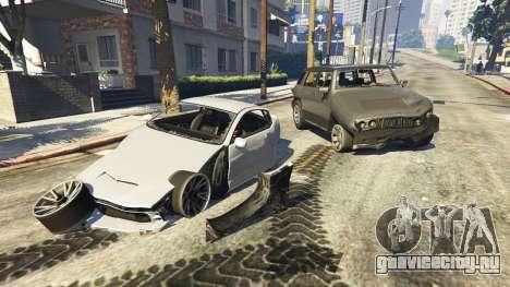 Увеличенная деформация для GTA 5