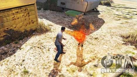 Огнедышащий для GTA 5 третий скриншот