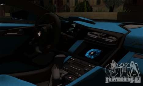Lykan Hypersport 2014 EU Plate Livery Pack 2 для GTA San Andreas вид справа