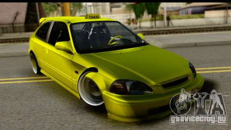 Honda Civic 1.4 Taxi для GTA San Andreas