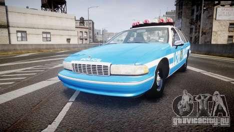 Chevrolet Caprice 1994 LCPD Patrol [ELS] для GTA 4