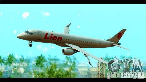 Embraer 190 Lion Air для GTA San Andreas