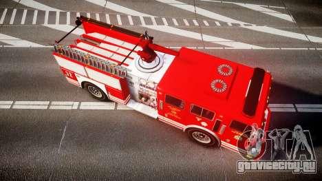 GTA V MTL Firetruck для GTA 4 вид справа