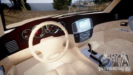 Toyota Land Cruiser 100 UEP [ELS] для GTA 4 вид сзади