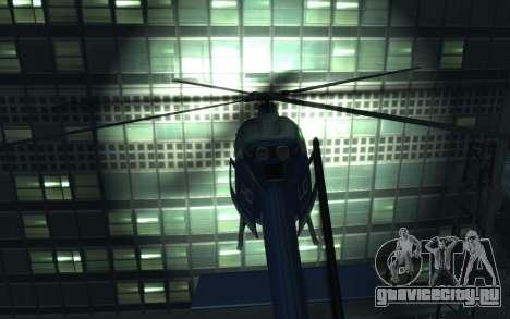 GTA III Police Valkyrie HD для GTA 4 вид справа