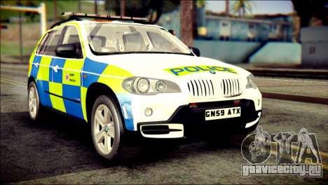 BMW X5 Kent Police RPU для GTA San Andreas