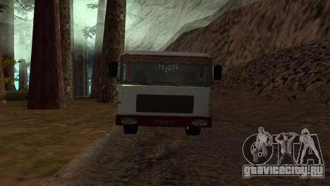Roman Bus Edition для GTA San Andreas вид сзади слева