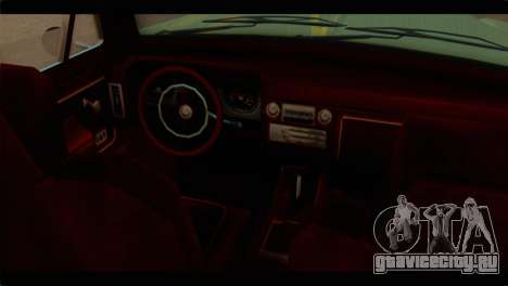 Chevrolet 56 для GTA San Andreas вид справа