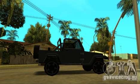 Mesa Final для GTA San Andreas двигатель