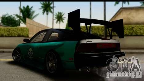 Nissan 200SX S13 Skin для GTA San Andreas вид слева