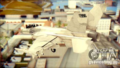 P-996 Lazer для GTA San Andreas вид слева