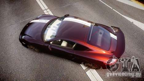 Porsche Cayman GT4 2015 для GTA 4 вид справа