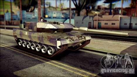 Leopard 2A6 PJ для GTA San Andreas