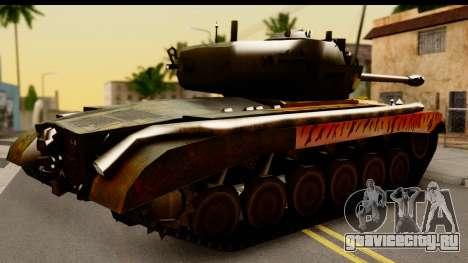 M26 Pershing Tiger для GTA San Andreas вид справа