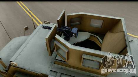 International MaxxPro MRAP для GTA San Andreas вид справа