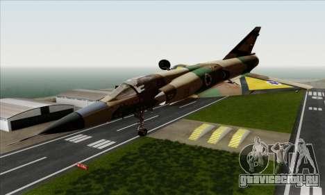 Dassault Mirage III AFI для GTA San Andreas