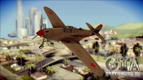 Pokryshkin P-39N Airacobra для GTA San Andreas