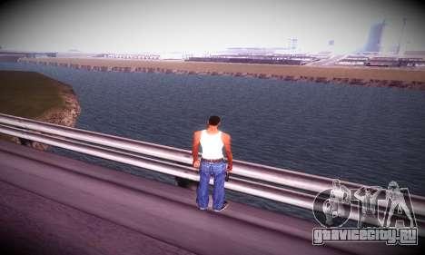 Ebin 7 ENB для GTA San Andreas седьмой скриншот