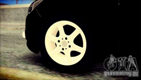 Ford Focus ДПС для GTA San Andreas вид сзади слева