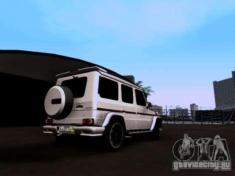 Mercedes-Benz G55 AMG для GTA San Andreas вид слева
