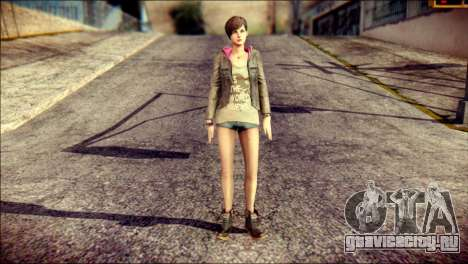 Moira Burton from Resident Evil для GTA San Andreas