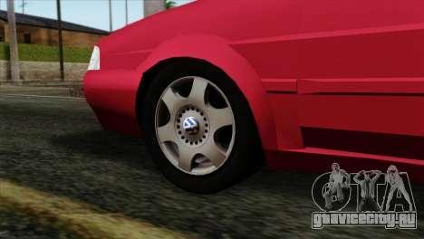 Volkswagen Santana для GTA San Andreas вид сзади слева