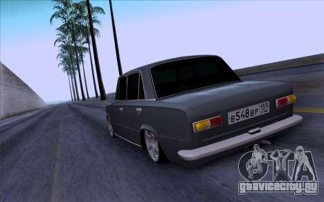 ВАЗ 2101 БПАN для GTA San Andreas вид сзади
