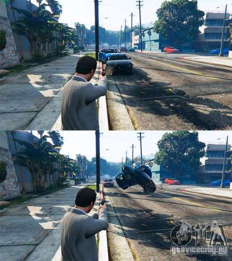 Отбрасывать транспорт для GTA 5 третий скриншот