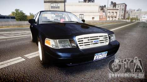 Ford Crown Victoria NYPD Unmarked [ELS] для GTA 4