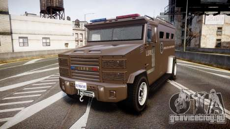 GTA V Brute Police Riot [ELS] skin 1 для GTA 4