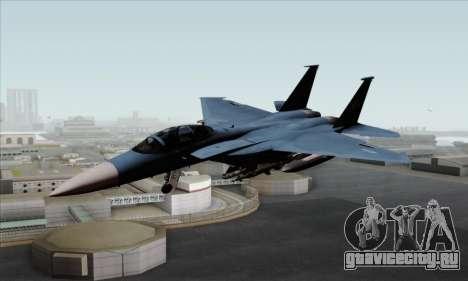 McDonnell Douglas F-15D Eagle GRDF для GTA San Andreas