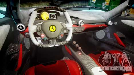 Ferrari LaFerrari 2013 HQ [EPM] PJ1 для GTA 4 вид изнутри