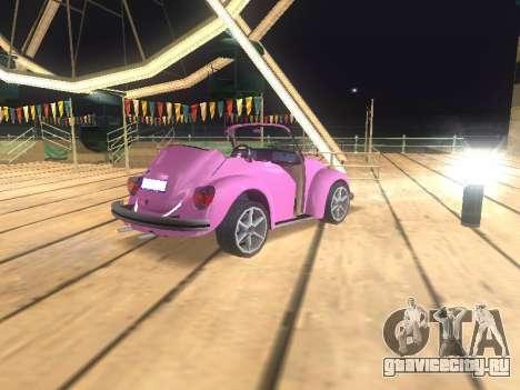 Volkswagen Beetle 1984 для GTA San Andreas двигатель