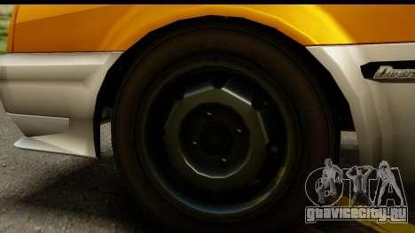 GTA 4 Blista Compact для GTA San Andreas вид сзади