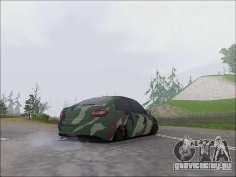 Lada Granta Liftback Coupe для GTA San Andreas вид справа