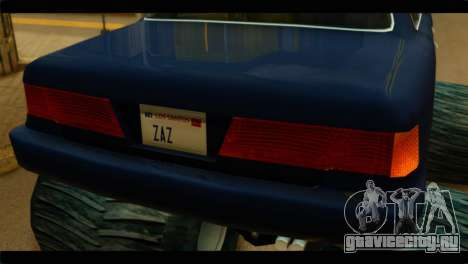 Monster Merit для GTA San Andreas вид сзади слева