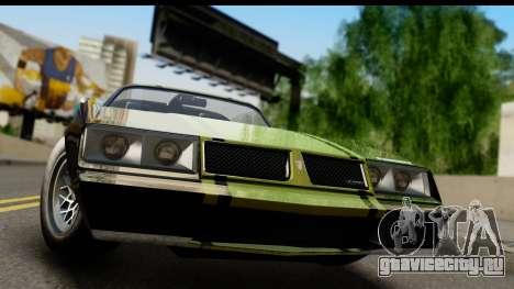 GTA 5 Imponte Phoenix IVF для GTA San Andreas вид сзади слева