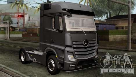 Mercedes-Benz Actros MP4 Euro 6 для GTA San Andreas