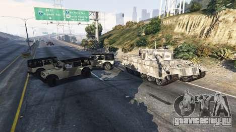 Солдаты при 5 звёзда для GTA 5 четвертый скриншот