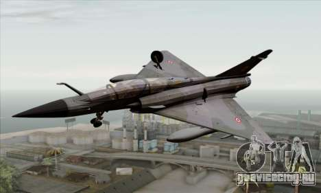 Dassault Mirage 2000-N SAM для GTA San Andreas