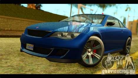 GTA 5 Ubermacht Zion XS для GTA San Andreas
