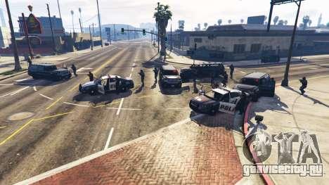 Hardcore Police Chasing для GTA 5