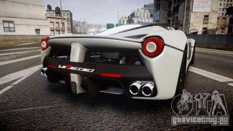 Ferrari LaFerrari 2013 HQ [EPM] для GTA 4 вид сзади слева