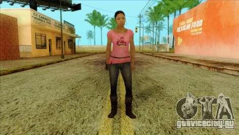 Rochelle from Left 4 Dead 2 для GTA San Andreas