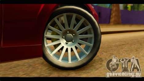 MP3 Dewbauchee XSL650R для GTA San Andreas вид сзади слева